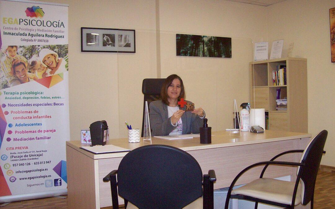 Reconocimiento a Egapsicología en 2020 por la colaboración en el Plan de Empleo de Cruz Roja Córdoba